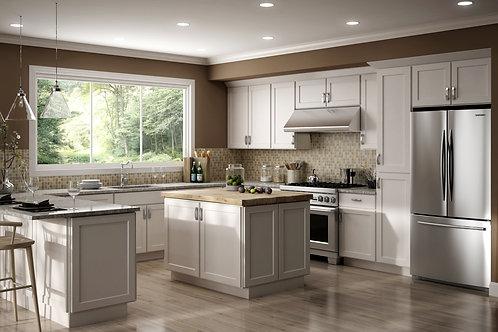 CNC Luxor White Kitchen Cabinets Kitchen and Bath Express