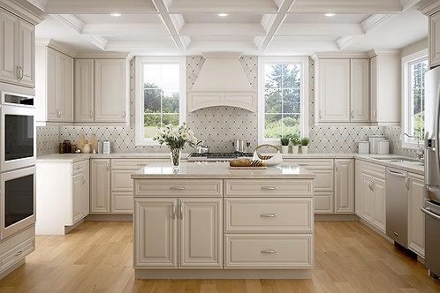CNC Harmony Pearl Kitchen Cabinets