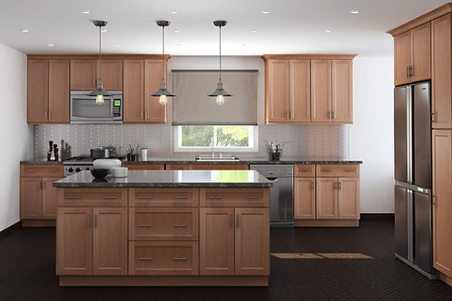 CUBITAC OXFORD TAN KITCHEN CABINETS KITCHEN AND BATH EXPRESS