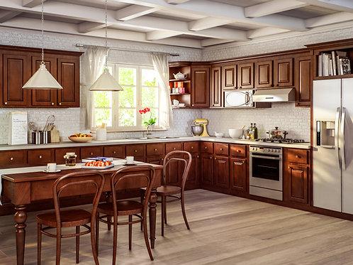 CNC Sierra Nutmeg Kitchen Cabinets Kitchen and Bath Express