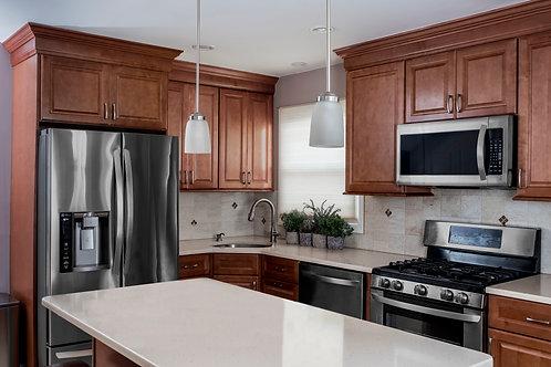 Hudson Pecan - 10' x 10' Kitchen Starting at