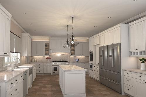 Cubitac Dover Latte Kitchen Cabinets Kitchen and Bath Express