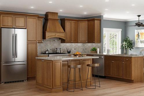 CNC Bristol Toffee Kitchen Cabinets Kitchen and Bath Express