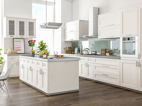 CNC Fashion Pearl Kitchen Cabinets Kitchen and Bath Express