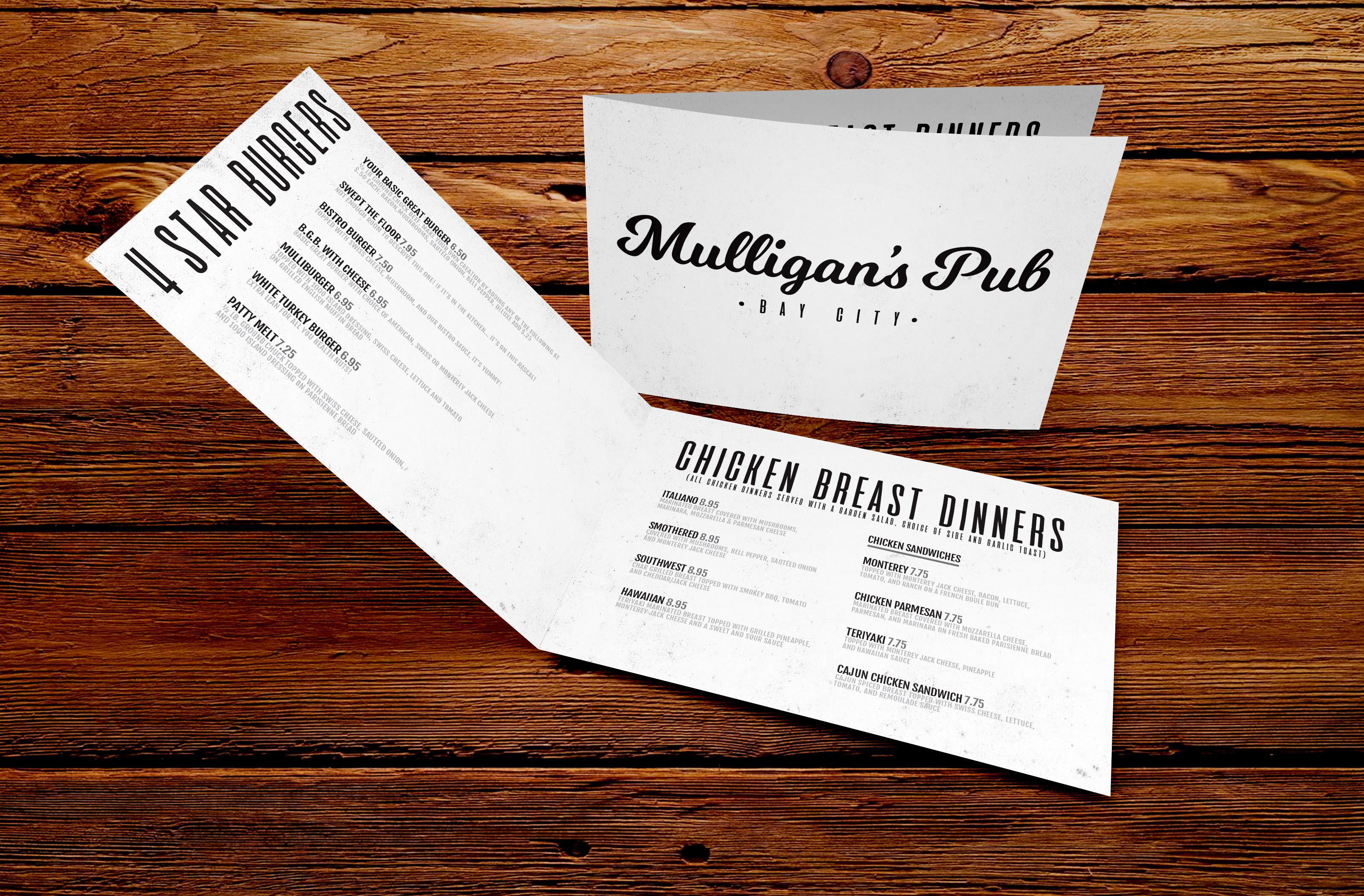 Mulligan\'s Pub | rachelaguirredesigns