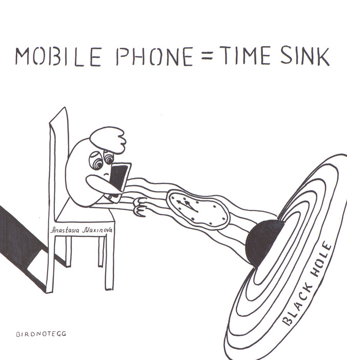 Mobile Phone = Time Sink