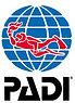 PADI Logo Bespoke Scuba Becontree Heath, Dagenham Essex