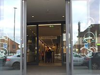 Entrance Becontree Heath Leisure Centre