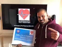 First Aid | Emergency First Response | Bespoke Scuba Diving | Dagenham