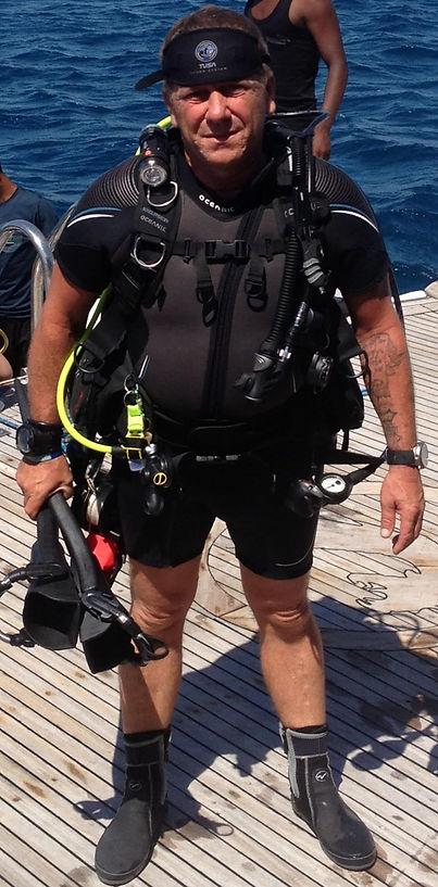 PADI OWSI Tony Boys (Boysie) | Bespoke Scuba Diving | Dagenham | Essex