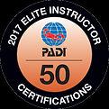 PADI Elite Instructor 2017 - Paul French - Bespoke Scuba Dagenham