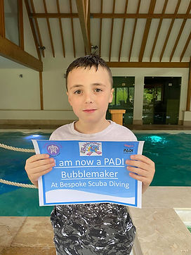 PADI Bubblemaker | Kids Scuba Diving | Pool Dive | Bespoke Scuba Diving | Dagenham | Essex