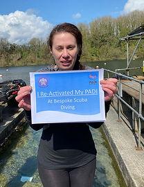 PADI Re-Activate | Bespoke Scuba Diving | Dagenham | Essex | Return to Diving