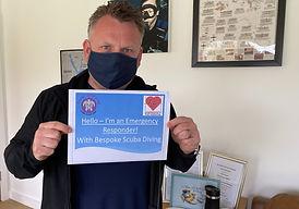 Emergency First Responder   First Aid   Bespoke Scuba Diving   Dagenham   Essex