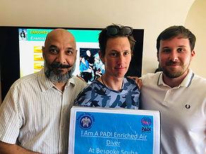 PADI Enriched Air | Bespoke Scuba Diving | Dagenham | Essex