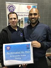 PADI Re-Activate   Bespoke Scuba Diving   Dagenham   Essex