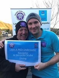 PADI Underwater Navigator - Bespoke Scuba Diving Dagenham, Essex.