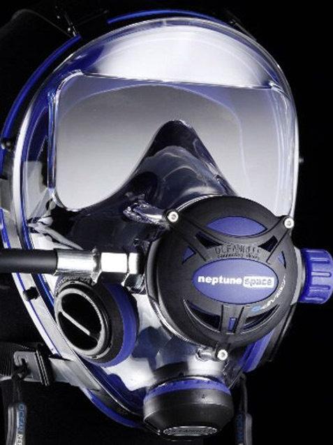 Cobalt Blue - Ocean Reef Full Face Mask - G.Diver