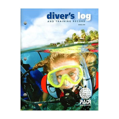 PADI Divers Log & Training record
