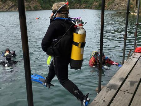 Scuba Jan on PADI Open Water