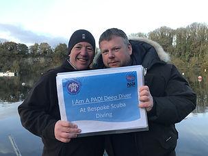 PADI Deep Speciality | Bespoke Scuba Diving | Dagenham | Essex