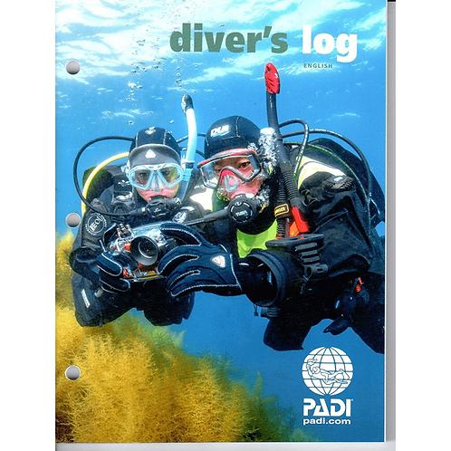 PADI Divers Log