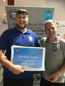 PADI | Discover Scuba Diving Leader | Bespoke Scuba Diving | Dagenham | Essex