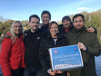 PADI Open Water   Bespoke Scuba Diving   Dagenham   Essex