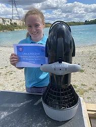 Cerys Sprent | PADI Diver Propulsion Vehicle | Bespoke Scuba Diving | Dagenham | Essex