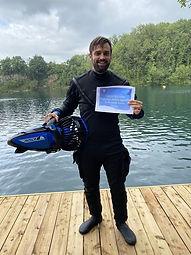 Eain Begg | PADI Diver Propulsion Vehicle | Bespoke Scuba Diving | Dagenham | Essex