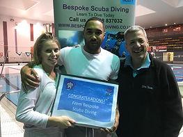 PADI Open Water Divers | Bespoke Scuba Diving | Dagenham
