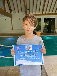PADI Bubblemaker | Kids Scuba Diving | Pool Dive | Bespoke Scuba Diving | Dagenham | Essex