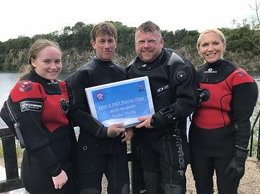 PADI Rescue Diver | Bespoke Scuba Diving | Dagenham | Essex