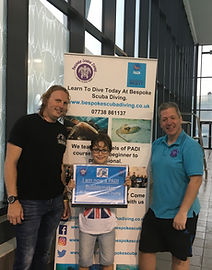 PADI Bubble Maker - Bespoke Scuba Diving - Dagenham Essex