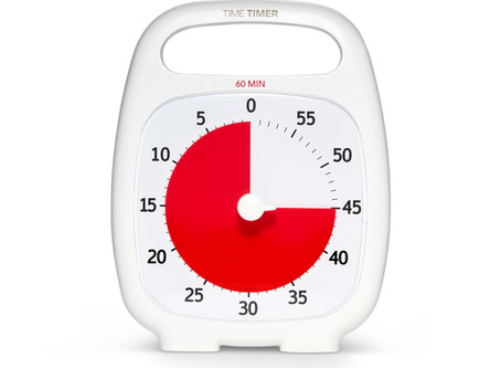 Working & Learning from Home Sweepstakes: Win a Time Timer!