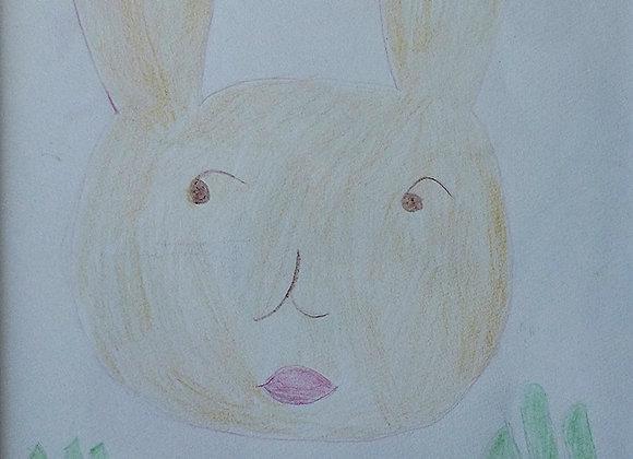 『幸せなウサギ』長岡真弓:作
