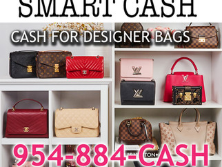CASH FOR DESIGNER BAGS HIGH-END HANDBAGS LUXURY PURSES AS LUIS VUITTON