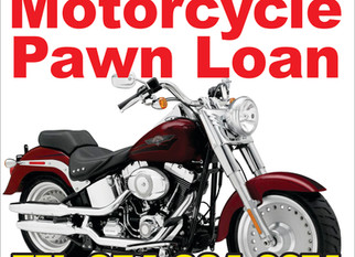 Motorcycle Pawn Cash Loan / CASH FOR MOTORCYCLES (Coral Springs
