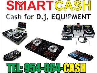 Cash for D.j Equipment / Pawn Your Audio Equipment NEW / USED / VIN