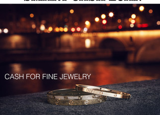 CASH FOR FINE JEWELRY / GOLD JEWELRY/ DIAMONDS/ HIGH-END JEWELRY