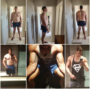 """I found Owen Dunderdale through social media after being inspired by his work. I can't say I was ready to begin my fitness journey, as I have been through countless trainers and countless diets, so to me, Owen was just going to be another new person telling me what to eat and what to train, well, so I thought.  I have never battled with training but eating was my biggest problem, as I love food. Owen heard me out and didn't give me a diet! Owen designed an eating plan that consisted of 6 to 10 different options per meal, I'm talking about breakfast/snack/lunch/snack/dinner/snack. Still to this day I haven't gotten bored of my eating plan due to the fact that it's s not a diet where you starve yourself, it's not where you have to eat on the minute and stuff your face with chicken breasts, broccoli and rice every meal.  It was an eating plan made for me. It includes foods that I love and crave.  The training was designed in line with my level and fitness and experience in the gym. Owen did not just give me a training program and say here, """"follow this"""". Owen uses an app where I can see what to train every day, how many reps, sets are needed. I am able to see my progress in strength as well as results. There are videos for every exercise to ensure good form and technique. Even more advanced clients that have got experience in a gym like myself, I didn't know a few exercises, but the videos sorted me out immediately.  Owen is a professional dietician, who takes his profession extremely seriously. Owen ensures weekly check ups, and is available on a daily basis if needed. Owen is not just my trainer anymore, but has become a friend that I can rely on and ensure no matter what goals I want, I can achieve them with his guidance and knowledge. I have never gotten results like I have with Owen. He also makes things extremely realistic and doesn't make you believe things that are impossible to achieve.  Working with Owen has been the best decision I've ever made for myself. H"""