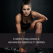 8 WEEK CHALLENGE 8:  ADVANCED FITNESS 2 This plan is for advanced level trainees. People who are experienced with weight lifting, who really wish to challenge themselves at gym. This program is based in the gym and gym access is mandatory. This is the secondary program to 8 week challenge 7, it is advised that you complete 7 before signing up for 8.  This package includes: 2 Phase exercise program which consists of 6 days of exercise and 1 rest day. Diet plan  8 Week smartphone app subscription Videos attached to all exercises Workout descriptions  Workout tracking  Body stat updates