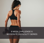 8 WEEK CHALLENGE 6:  MODERATE FITNESS 2 This plan is designed for people who have a moderate level of strength and fitness. It caters for individuals who are comfortable in the gym and who are comfortable with most exercises. This program is gym based and gym access is mandatory. This is the secondary program to 8 week challenge 5.  This package includes: 2 Phase exercise program which consists of 6 days of exercise and 1 rest day. Diet plan  8 Week smartphone app subscription Videos attached to all exercises Workout descriptions  Workout tracking  Body stat updates  R599,00 for the complete 8 week challenge, without a diet plan.  R699,00 for the complete 8 week challenge, with a diet plan. It is advised that you do the program with the correct nutritional protocols, however if you have previously done a challenge and wish to redo it, you may purchase the option without a diet. If you feel that you are competent with dieting you may also choose the option without a diet.