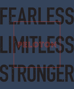 Peloton | Fearless Graphic