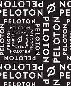 Peloton | Logo Repeat Print