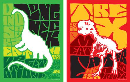 Long-Neck & T-Rex