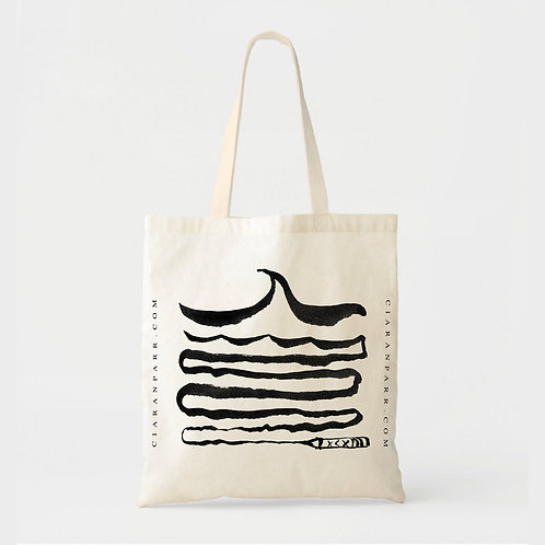 Make Your Own Waves Book Tote