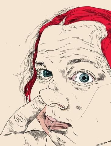 Idle   Illustration Friday