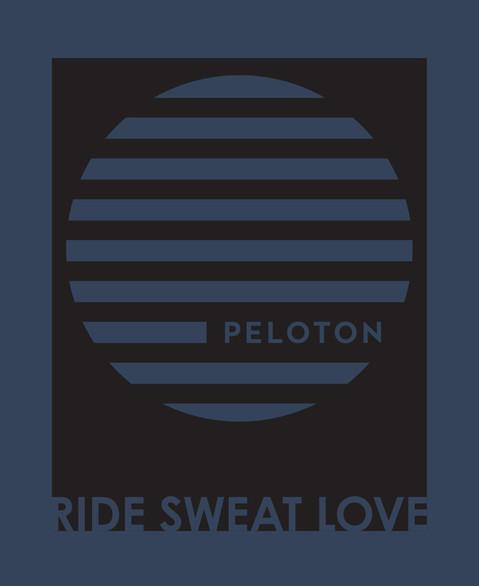 Peloton | Ride Sweat Love Logo