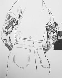 Tattooed L A D Y